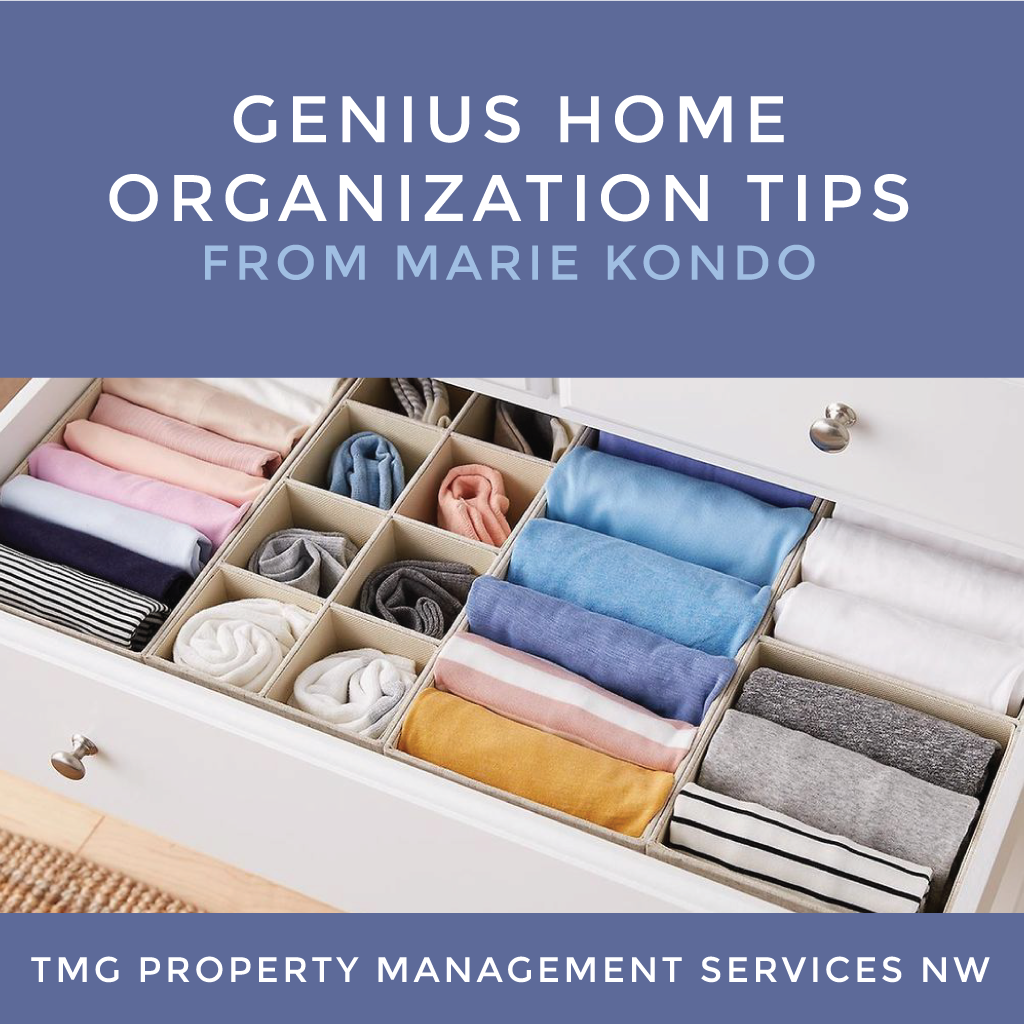 Genius Home Organization Tips