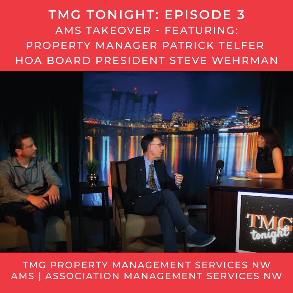 TMG Tonight Episode 3 HOA Management