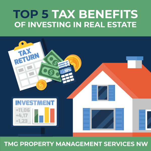 Top 5 Tax Benefits of Investing in Real Estate