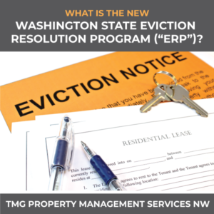 What Is the New Washington State Eviction Resolution Program (ERP)?
