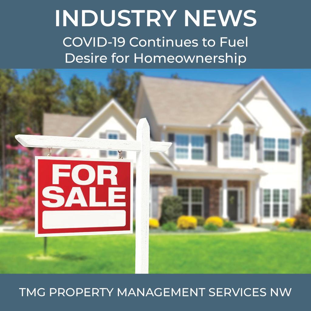 COVID-19 Fuels Homeownership