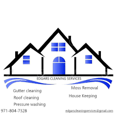 Edgar's cleaning service logo